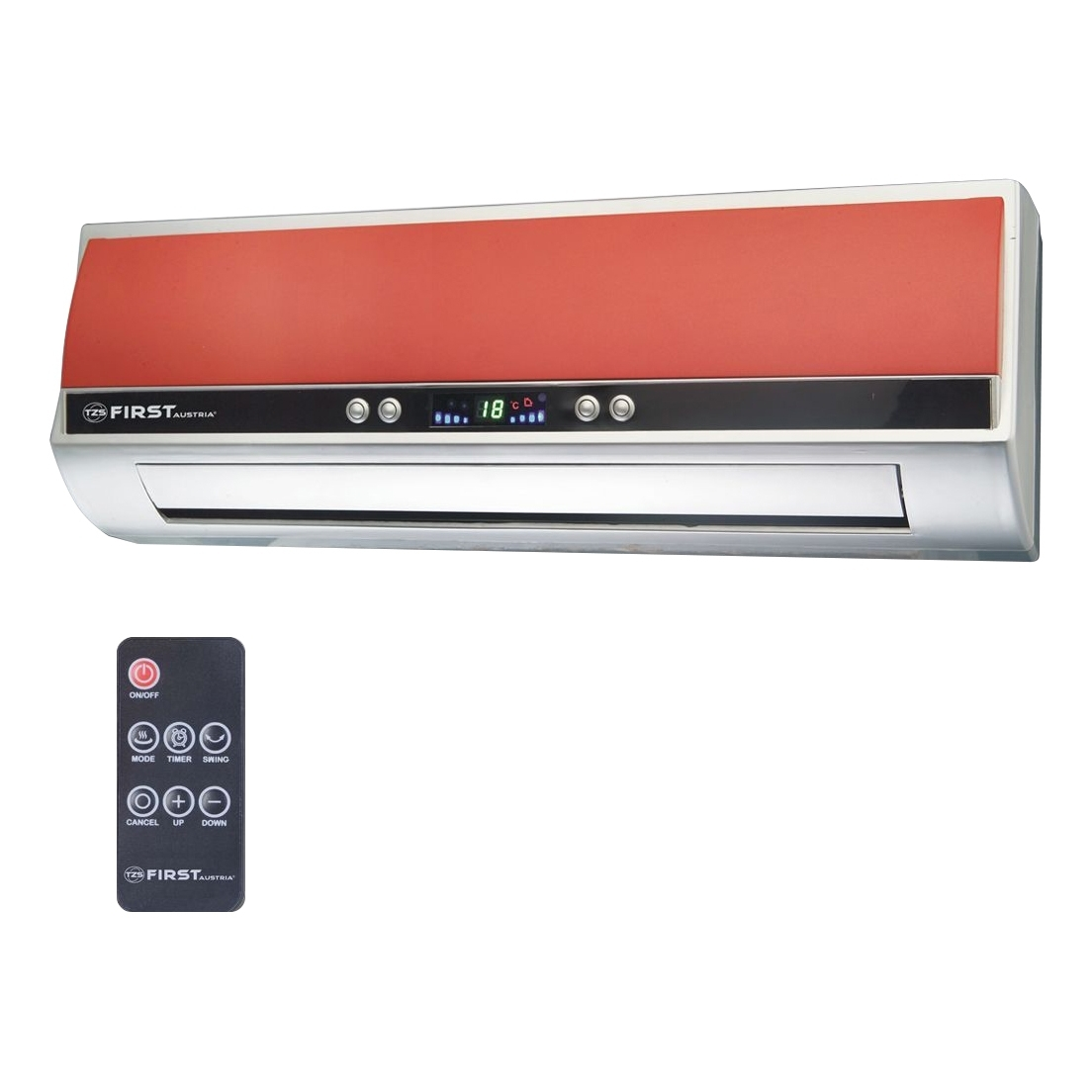 Fan heater FIRST FA-5571-8-RE тепловентилятор first fa 5571 8 re 2000 вт красный