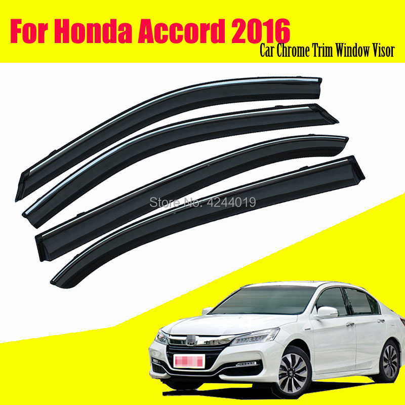 Car Sun Visor Window Rain Shade for Plastic Accessories For Honda Accord 2016