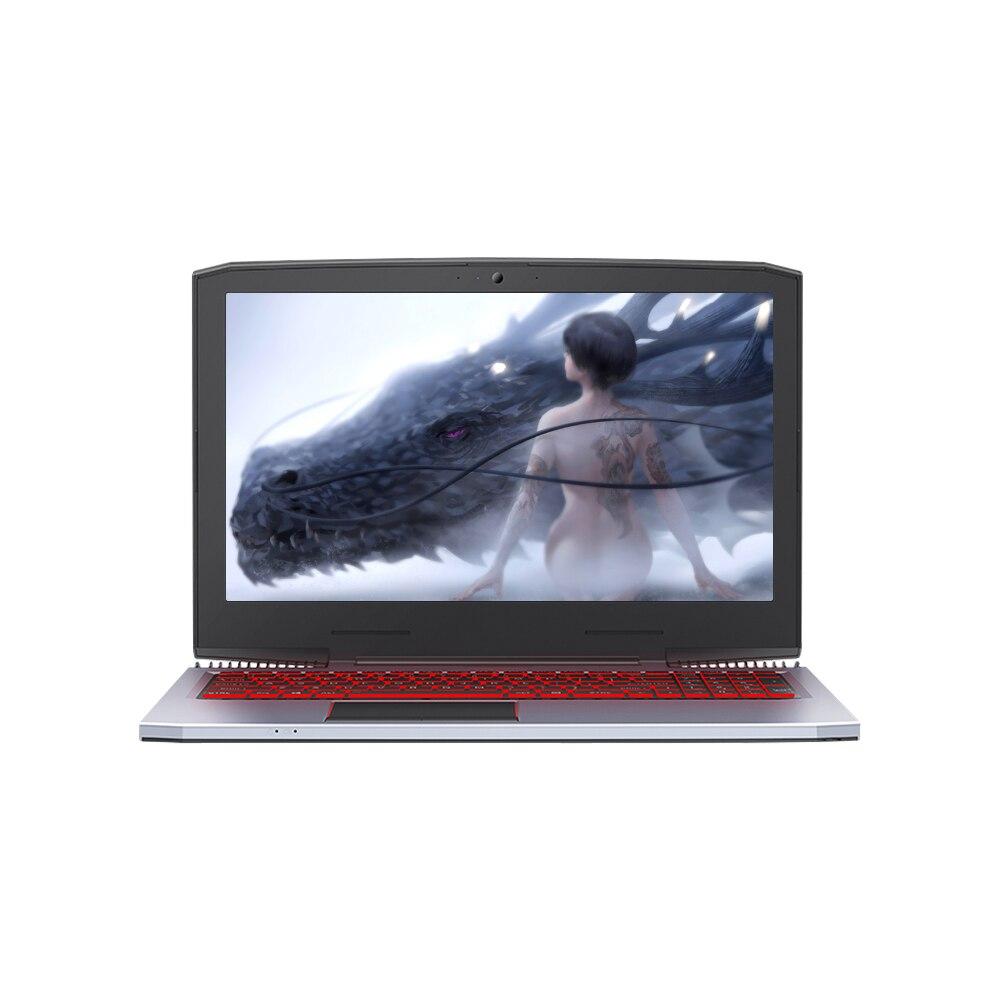 T bao ноутбук Corei7 15,6 дюйма GTX1060 игровой ноутбук 1920*1080 HD двойные вентиляторы 8 Гб DDR4 4000 мАч батарея RGB клавиатура с подсветкой Windows 10