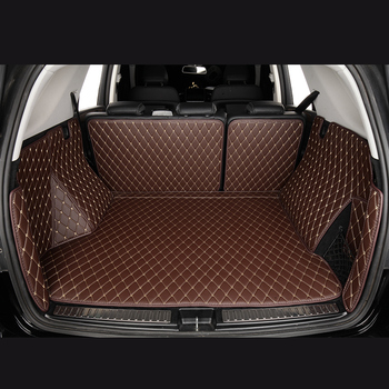 Car Trunk Mats for TOYOTA Alphard Auris Avensis Stufenheck Aygo B1 B4 CHR B4 X1 Camry V4 Corolla E12 E18 custom Cargo Liner
