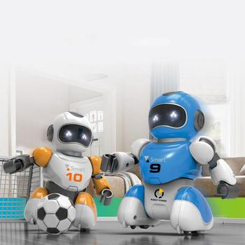 1 Set  RC Robot USB Charging Remote Control Soccer Robot Toy Singing And Dancing Simulation  Intelligent Football Robots Toys