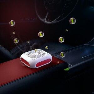 2pc Car Air Purifier Cleaner F