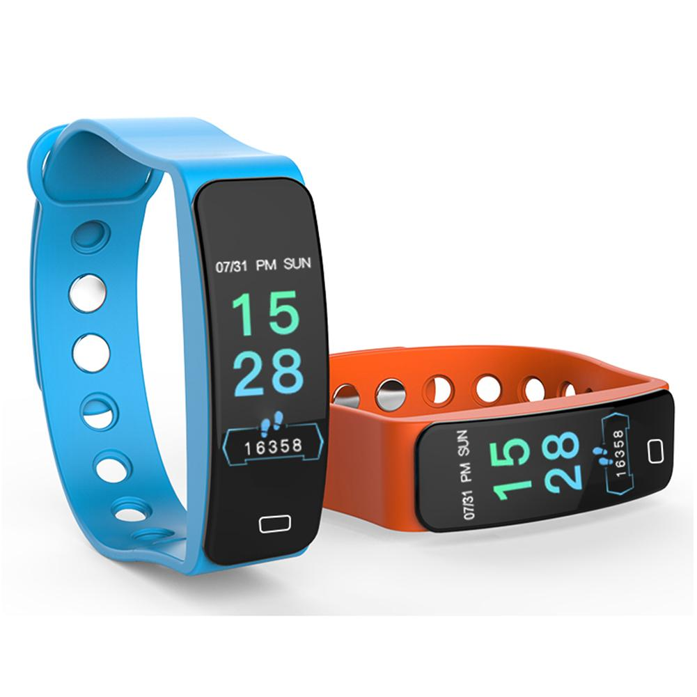 Image 5 - B4 Color Screen Sports Smart Bracelet Heart Rate Blood Pressure Sleep Monitoring Health Fitness Tracker Color Box Charging Cable-in Smart Wristbands from Consumer Electronics