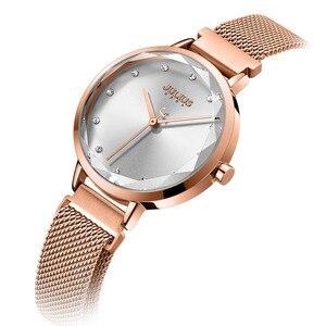Image 2 - Fivela magnética julius lady relógio feminino miyota moda horas pulseira de aço inoxidável relógio de negócios presente aniversário da menina