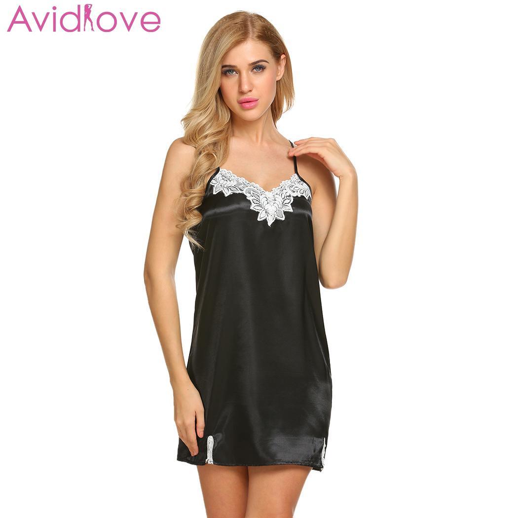 436bafae86ba Avidlove mujeres Sexy Lingerie ropa interior de malla Babydoll lenceria  Tanga con liguero Sexy Lace Teddy
