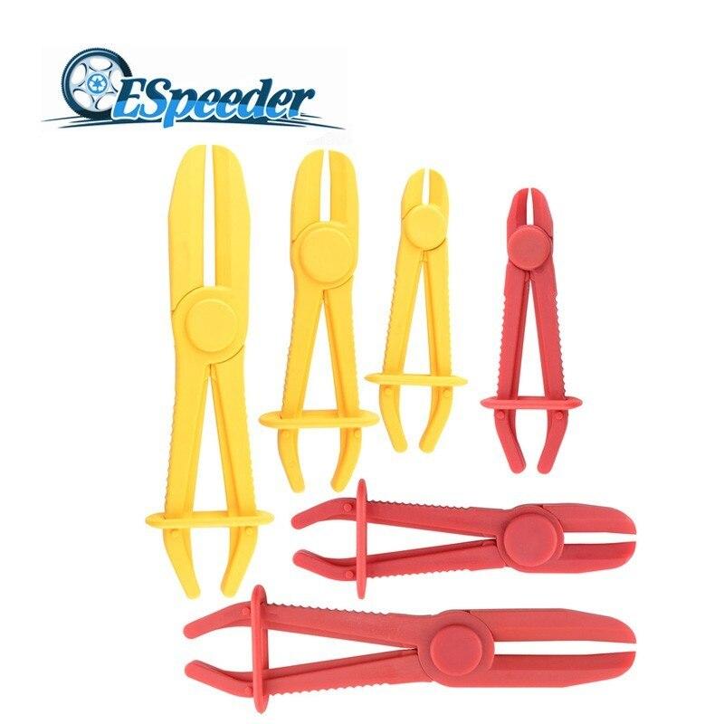 ESPEEDER 3Pcs/Set Flexible Hose Clamp Kit Pinch Off Plier Brake Fuel Water Line Brake Fuel Water Line Clamp Plier(China)