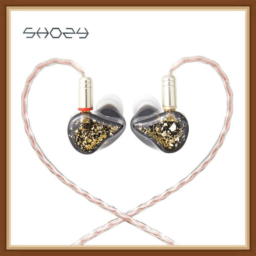 SHOZY & NEO BG 5 Moving Iron 5BA Audiophile IEMs ACG Hifi Music Monitor DJ Studio In-ear Earphones Earbuds with MMCX Cable