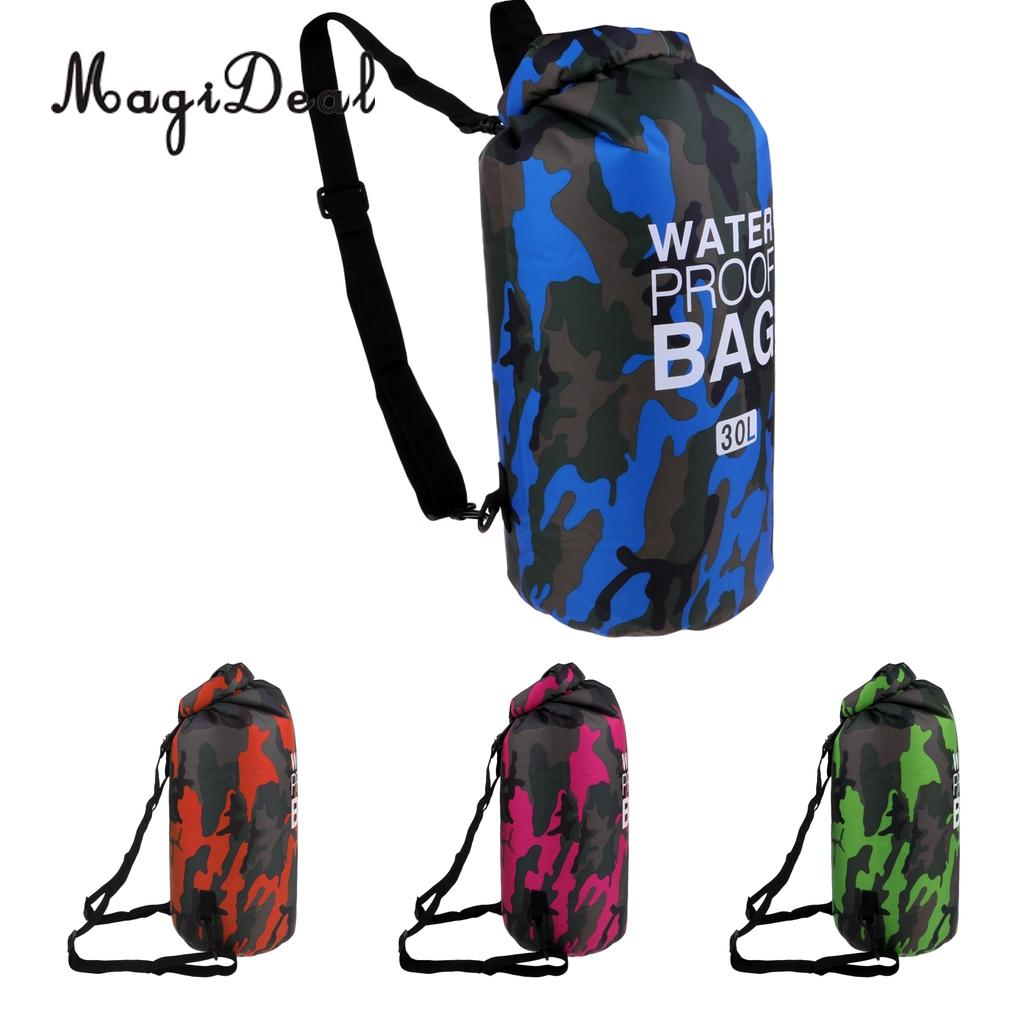 30L Waterproof Dry Bag Backpack Rucksack Kayak Boat Floating For Surf Fishing Camping Hiking Climbing Cycling Snorkeling Diving