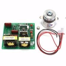 Ac 110 v 100 w 40 k Ультразвуковой очиститель плата драйвера питания+ 1 шт. 60 w 40 k преобразователь для ультразвуковые машины для очистки