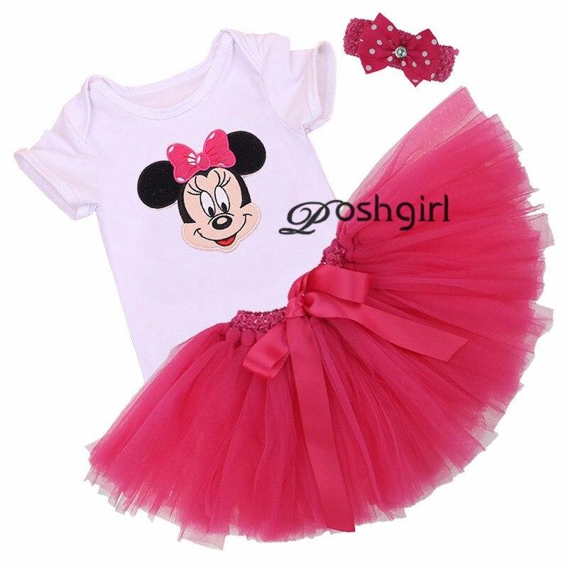Detalle Comentarios Preguntas sobre Dibujos Animados Mickey Minnie bebé niña  Vestido niño ropa recién nacido Tutu fiesta de cumpleaños faldas párr Bebe  boda ... 7d72718add6