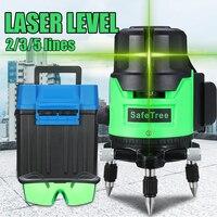 12 Line Green Laser Level 3D Level Self Leveling 360 Horizontal And Vertical Cross Super Powerful Green Laser Beam Line