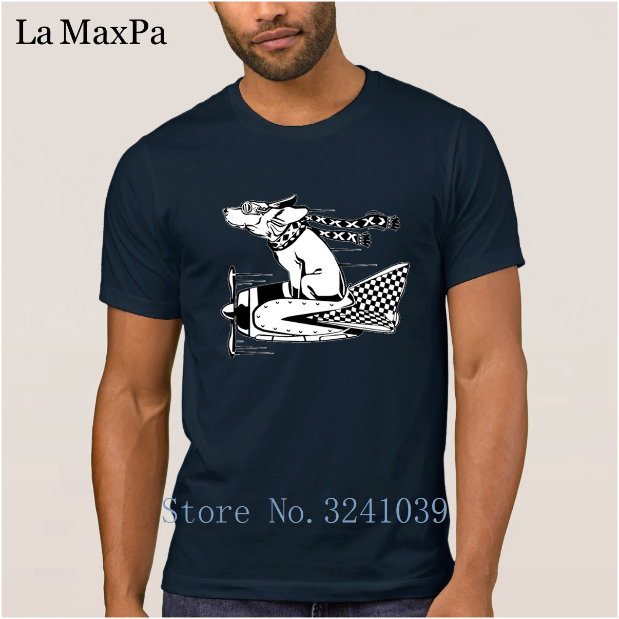 Create Fashion T Shirt Men Short Sleeve 2018 Men's Tshirt Canine Aviator T-Shirt Gift Camisas Shirt O-Neck Tee Top