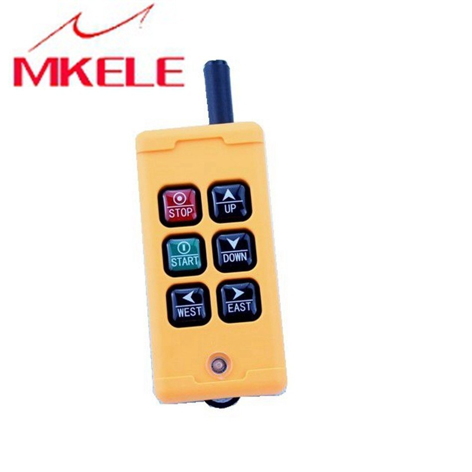High Quality New Arrivals Crane Industrial Remote Control HS-6 Wireless Transmitter Push Button Switch China High Quality New Arrivals Crane Industrial Remote Control HS-6 Wireless Transmitter Push Button Switch China