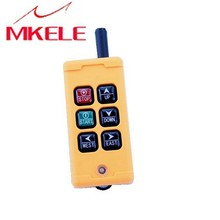 High Quality New Arrivals Crane Industrial Remote Control HS-6 Wireless Transmitter Push Button Switch China