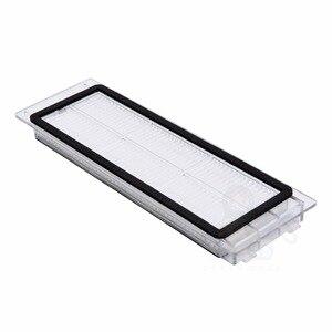 Image 4 - Gomma laterale spazzola principale pennelli rullo filtro HEPA per Xiaomi Roborock S4 E4 S5 S6 S5 Max filtro spazzola di ricambio parti di accessori