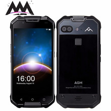 AGM X2 SE IP68 Waterproof shockproof Mobile Phone 5.5 6GB+64GB Qualcomm MSM8976SG Octa Core 12MP camera 6000mAh NFC Smartphone