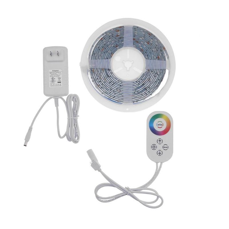 Kit de lumières de bande de LED à télécommande intelligente ALLOYSEED IP65 pour le contrôleur Alexa WiFi sans fil lumière de bande de LED de contrôle de téléphone intelligent