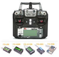 Flysky FS-i6X I6X 2.4GHz 10CH AFHDS 2A RC Transmitter With FS-iA6B / FS-iA10B / FS-X6B /FS-A8S / FS-IA6 Receiver For RC Airplane