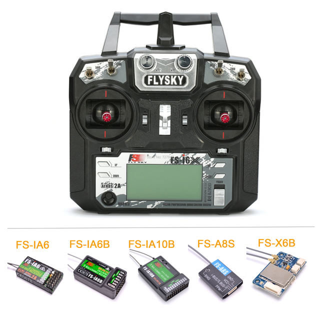 Flysky FS-i6X I6X 2 4GHz 10CH AFHDS 2A RC Transmitter With FS-iA6B FS-iA10B FS-X6B FS-A8S FS-IA6 Receiver For RC Airplane