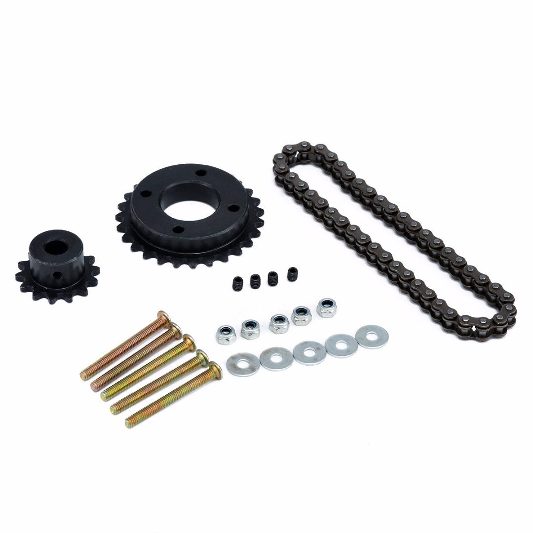 New Electric Longboard Skateboard Replace Part Sprocket Chain Wheel DIY Set Replacement Skate Board Accessories-in Skate Board from Sports & Entertainment