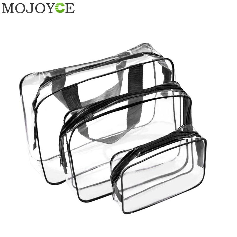 3 Size/Set Travel PVC Cosmetic Bags Women Transparent Clear Zipper Makeup Bags Organizer Bath Wash Make Up Tote Handbags Case3 Size/Set Travel PVC Cosmetic Bags Women Transparent Clear Zipper Makeup Bags Organizer Bath Wash Make Up Tote Handbags Case
