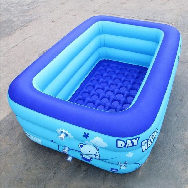 120/130/150cm Baby/Kid Pool Inflatable Square