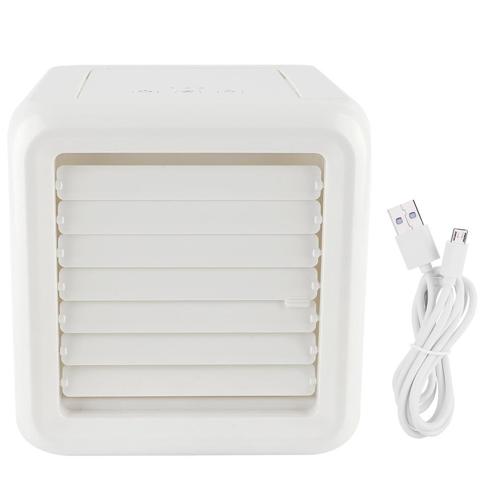 Fans Haushaltsgeräte Klug Usb Mini Tragbare Klimaanlage Befeuchter-reinigungsapparat 7 Farben Licht Desktop Luft Lüfter Luftkühler Fan Für Office Home Um Eine Reibungslose üBertragung Zu GewäHrleisten