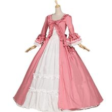 18th Century Gothic Victorian Lolita Dresses Retro Long Flare Sleeves Stage Ball Gowns For Women Customized Theater Costume(China)