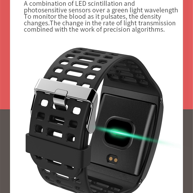 Image 3 - Z01 Smart Bracelet Ip67 Waterproof Fitness Tracker Pedometer Activity Monitor Wristband Big Dial Smartband Heart Rate Smart Ba-in Smart Wristbands from Consumer Electronics