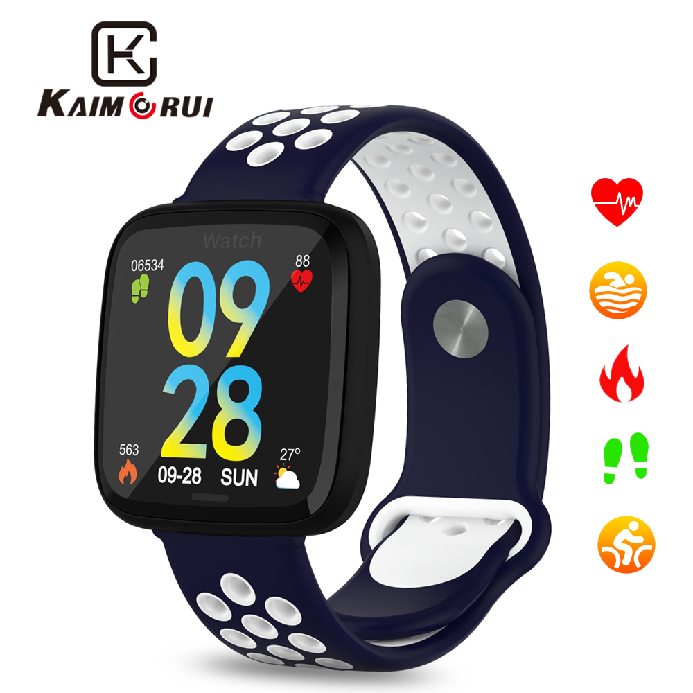 Smart Watch Sports Heart Rate Monitor Pedometer Wristband Fitness Bracelet Activity Tracker for Men IOS and Android Watch Phone in Smart Watches from Consumer Electronics