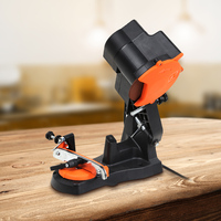 230V 85W Bar Mounted Electric Chainsaw Saw Blade Sharpener Bench Grinder Set 4800RPM Working Wood Power Tools 35 Degree