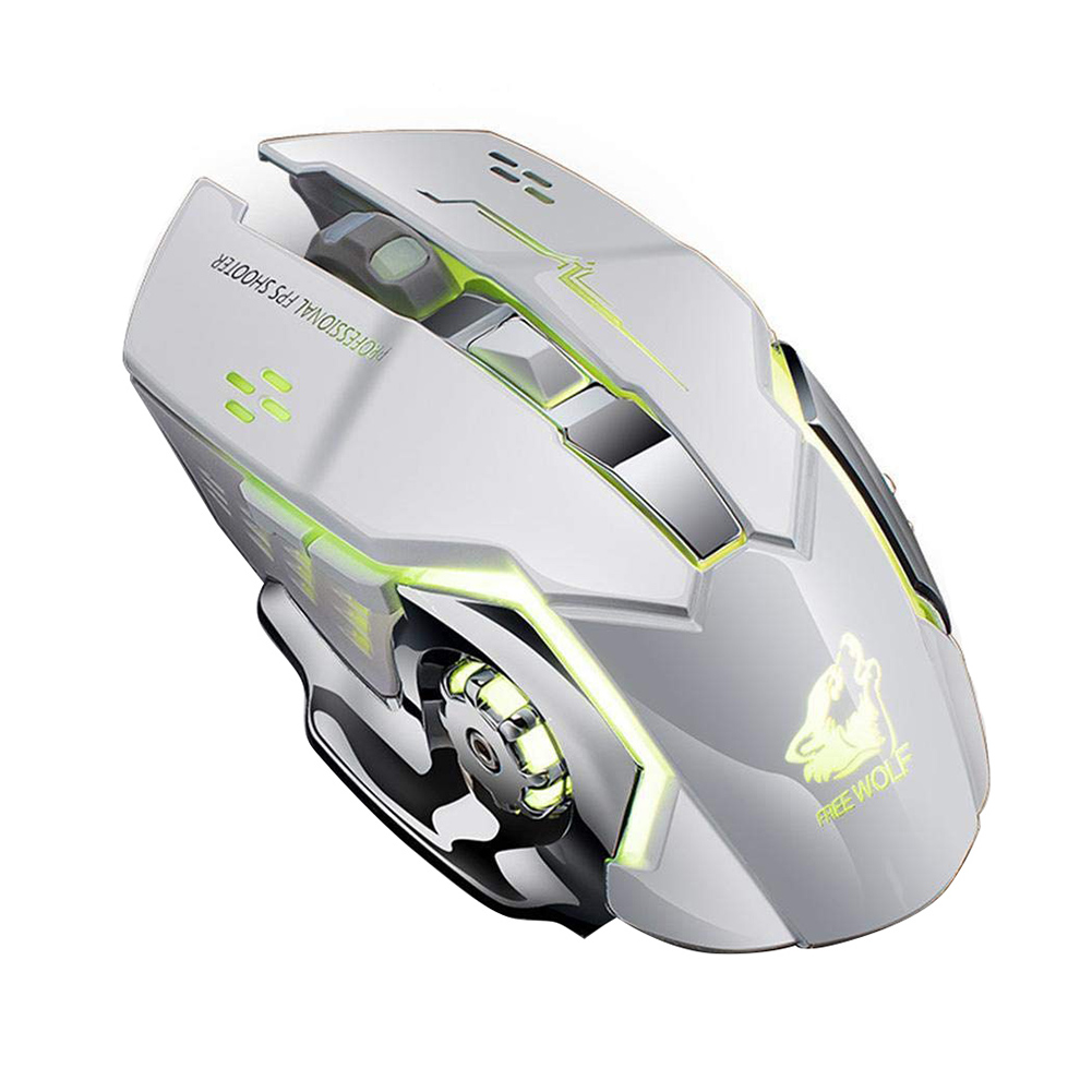 Image 4 - GUIGSI LED Light Adjustable DPI 2.4GHz 6 Buttons PC Laptop Gaming Wireless Mouse-in Mice from Computer & Office