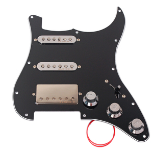 Image 1 - Loaded Prewired Pickguard SSH Alnico 5 Humbucker Pickups Plate Set for Electric Guitar Replacement Accessories Pick Guard