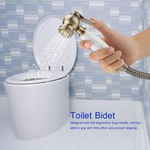 Wall Mount Shower Toilet Bidet Sprayer Bathroom Handheld Bidet Diaper Spray Sprayer Shattaf Kit bathroom toilet hand held shattaf bidet diaper sprayer kit wall mount golden toilet flusher bidet sprayer set