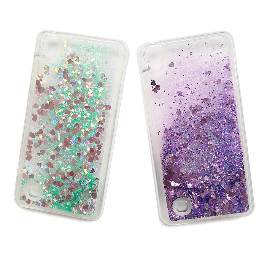 Phone Bags & Cases For Lg X Power K220 Ls755 Case Bling Glitter Quicksand Water Soft Case Cover For Lg X Power K220ds Liquid Case Coque Capa Fundas Be Shrewd In Money Matters Half-wrapped Case