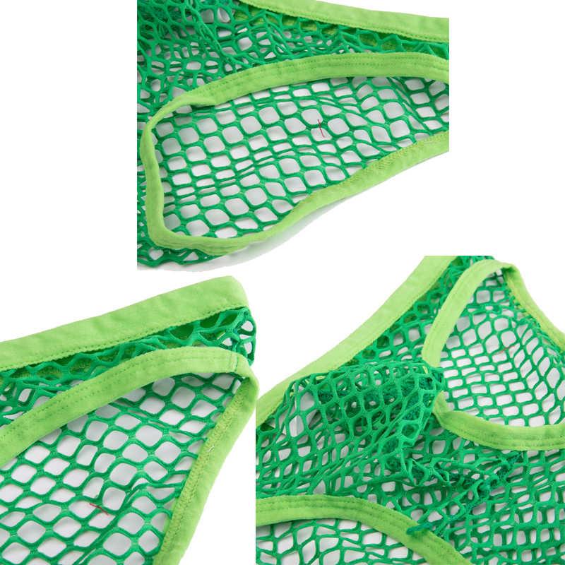 DODOING Bán Lớn Lưới Gợi Cảm Trong Suốt Nam Quần Đùi Thoáng Khí Fishnet Quần Lót Nam Đồng Tính Trượt Rỗng Ra Quần Đùi