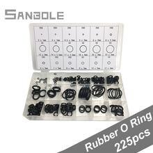 225 шт резиновые уплотнительные кольца шайбы герметичность ассортимент