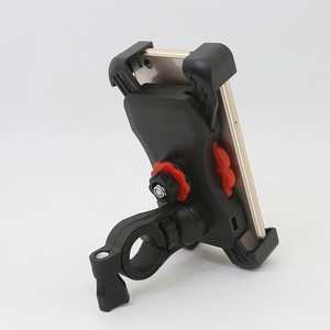 Image 4 - Soporte de teléfono para motocicleta manillar giratorio 360, soporte para teléfono móvil y espejo retrovisor para bicicleta