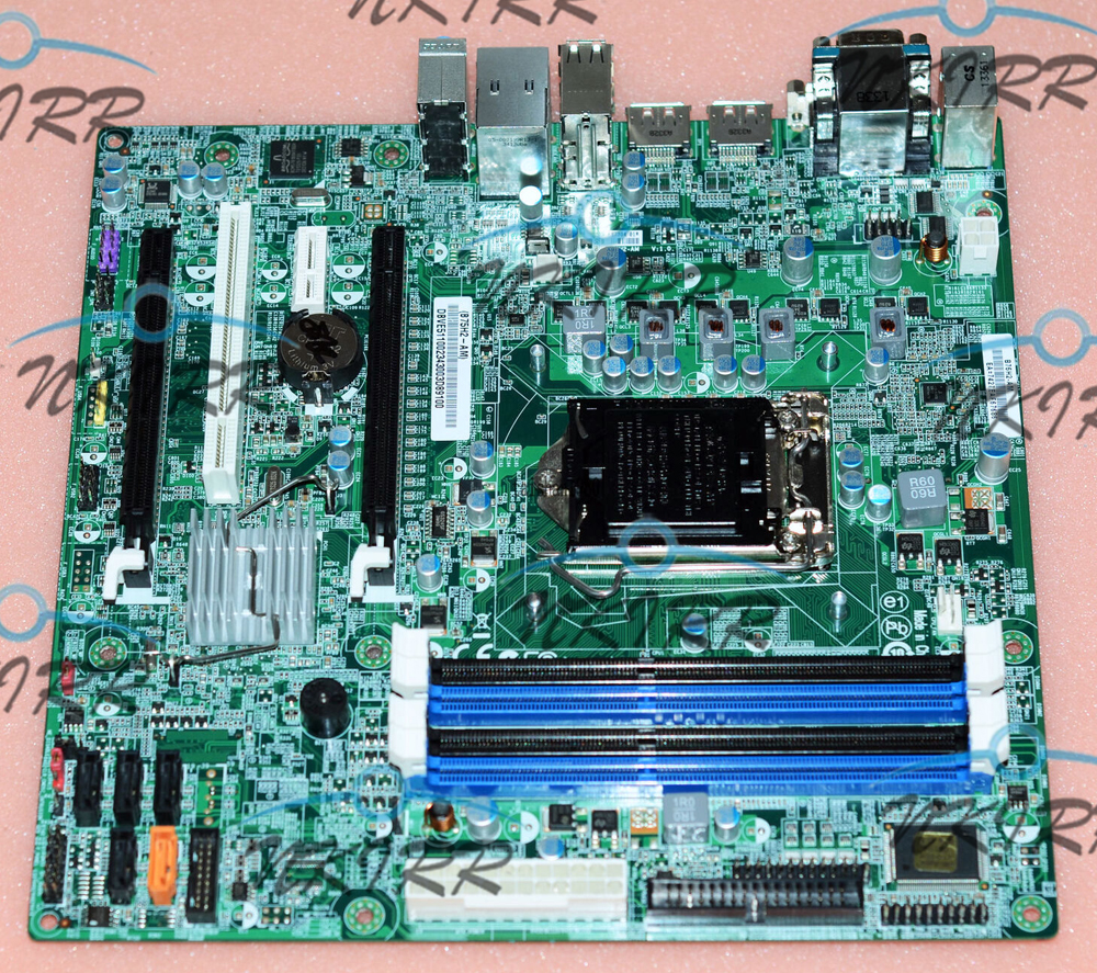 100% working B75H2-AM Q77H2-AM DB.VE511.002 DBVE511002 <font><b>LGA</b></font> <font><b>1155</b></font> DDR3 Dual-DP SATA MotherBoard for Veriton M4620GH T630 image
