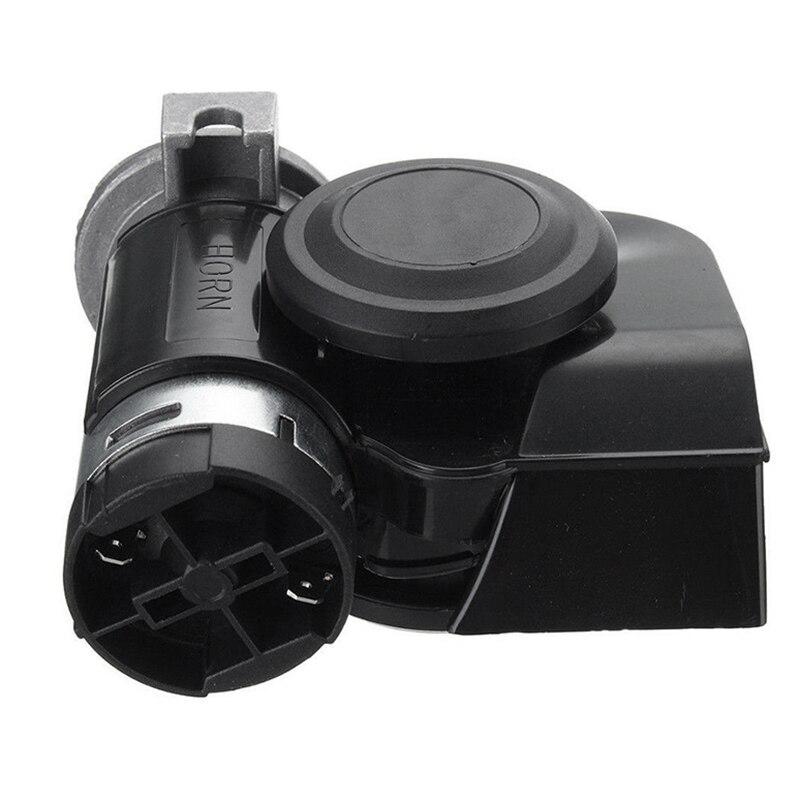 デュアルトーントランペット大声 130Db電動ポンプair hornオートバイ車のトラックボートrv修正部品