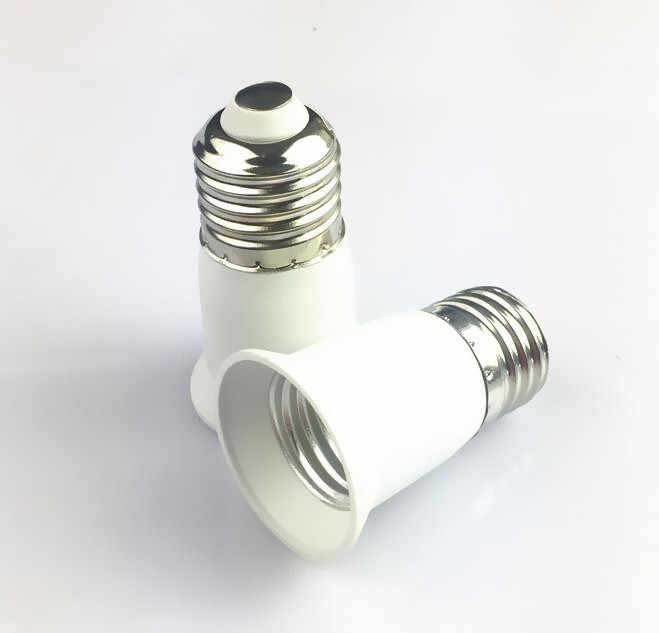 Lamp Holder  Suitable For All Voltage New E27 to E27 Extension Socket Base Adapter Converter CLF LED  Light Bulb