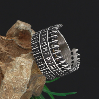 Amulet Viking Nordic Rune Ring6