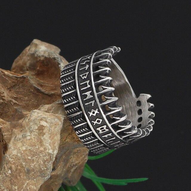 Amulet Viking Nordic Rune Ring6