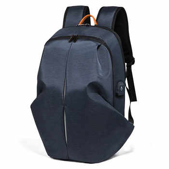 Fashion Multifunction USB Charging Men Backpack 15 Inch Laptop Anti-theft Waterproof Travel Bag For Teenager Male Mochila