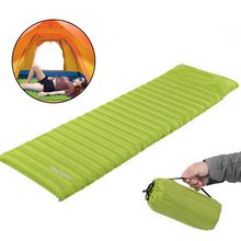 Naturehike Ultralight Outdoor Air Mattress Fast Filling Mat Moistureproof Inflatable TPU Camping Mat With Pillow Sleeping Pad(China)