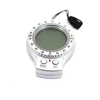 259372b34fba 4 en 1 temperatura reloj termómetro integrado deportes al aire libre  multifuncional brújula electrónica para practicar senderismo y Camping