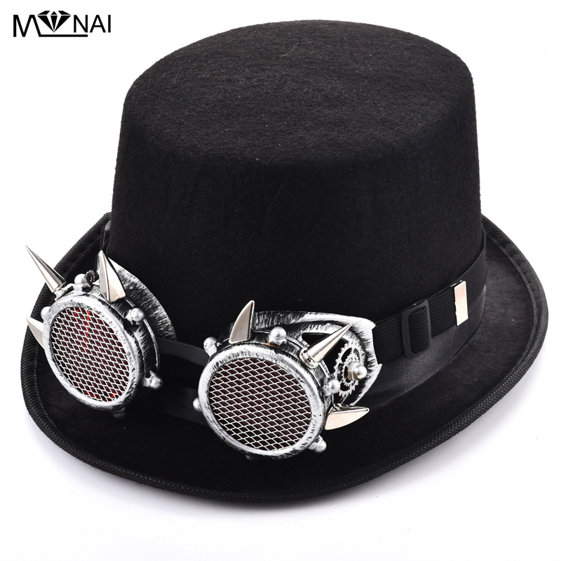 3a92bfede330be top 10 most popular men fedora hat punk ideas and get free shipping ...