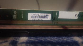 55 inch 4K TV LCD Glass model LC550EGY(SJ)(M2)