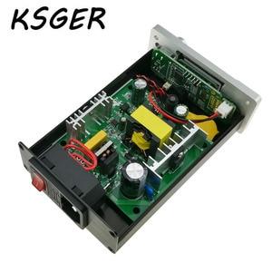 Image 2 - KSGER לבן עבה פנל STM32 OLED T12 הלחמה תחנת טמפרטורה דיגיטלית בקר עבור Hakko T12 חשמלי הלחמה ברזל
