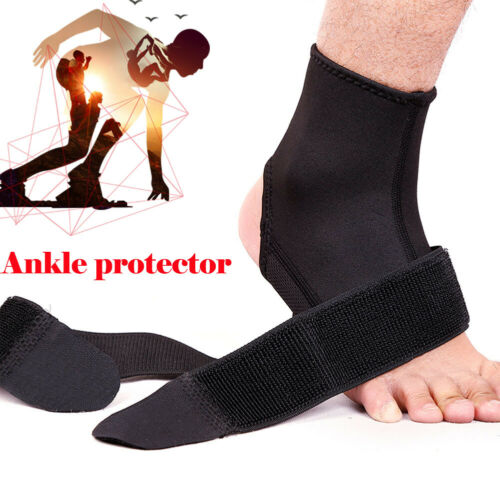 Adjustable Outdoor Fitness Compression Strap Tendon Brace Sprain Protector Ankle Support Foot
